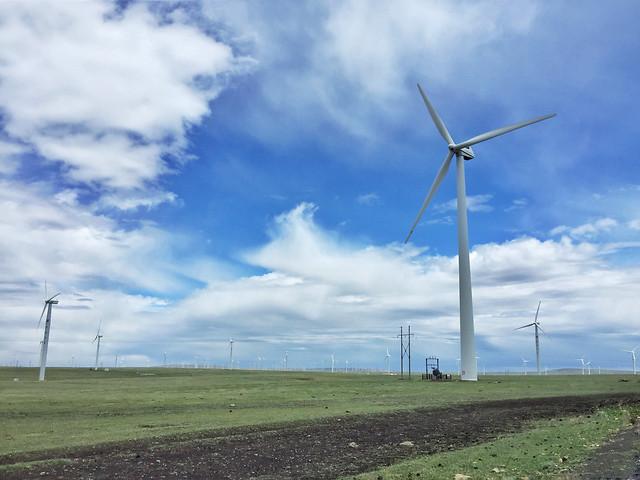 windmill-electricity-turbine-wind-alternative picture material
