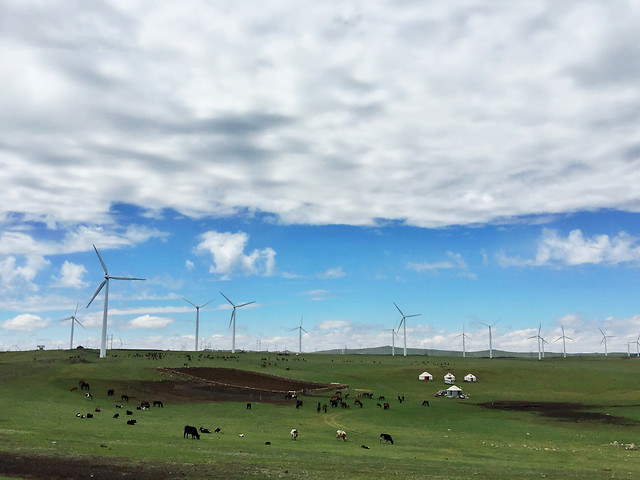windmill-turbine-electricity-energy-farm picture material