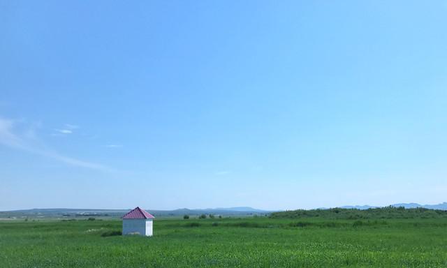 landscape-sky-nature-grass-grassland picture material