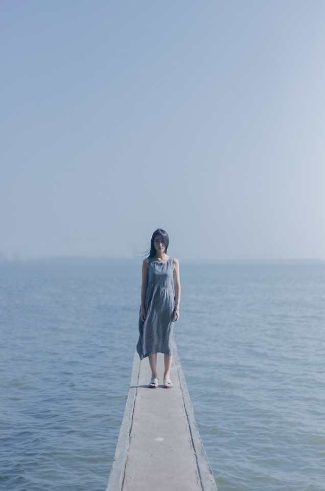 sea-water-woman-sky-recreation picture material