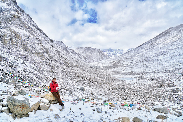 snow-mountain-winter-travel-ice picture material