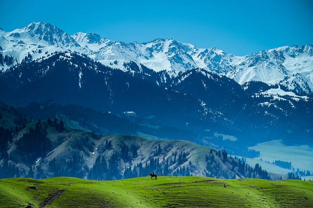 mountain-snow-landscape-travel-mountainous-landforms 图片素材