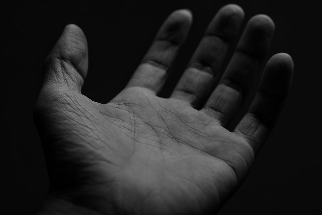 monochrome-hand-people-fist-dark picture material