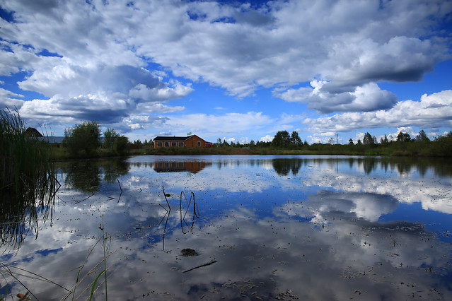 reflection-lake-water-landscape-nature picture material