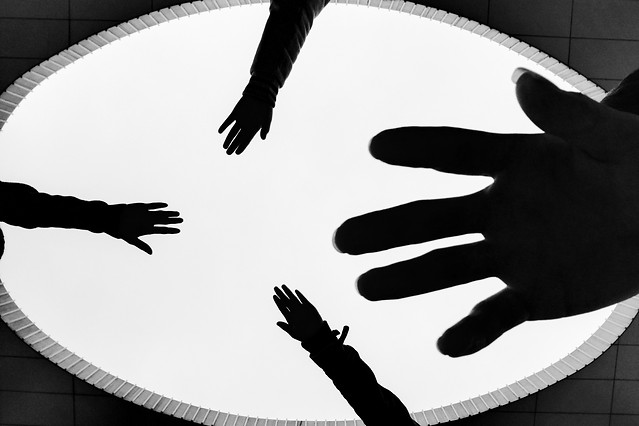 hand-people-no-person-silhouette-black-white picture material