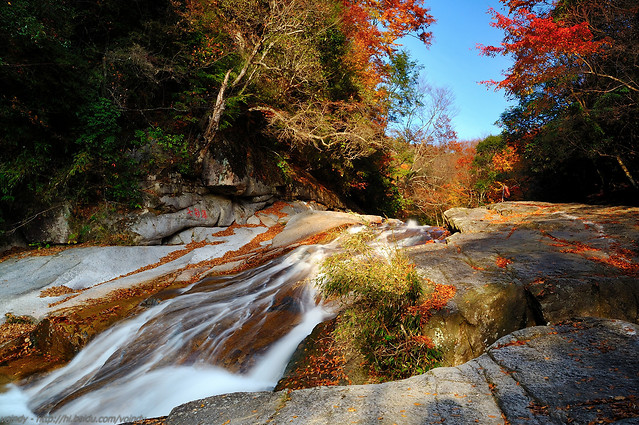 fall-water-landscape-river-nature picture material