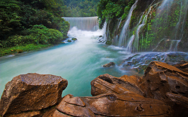 water-no-person-waterfall-travel-river picture material
