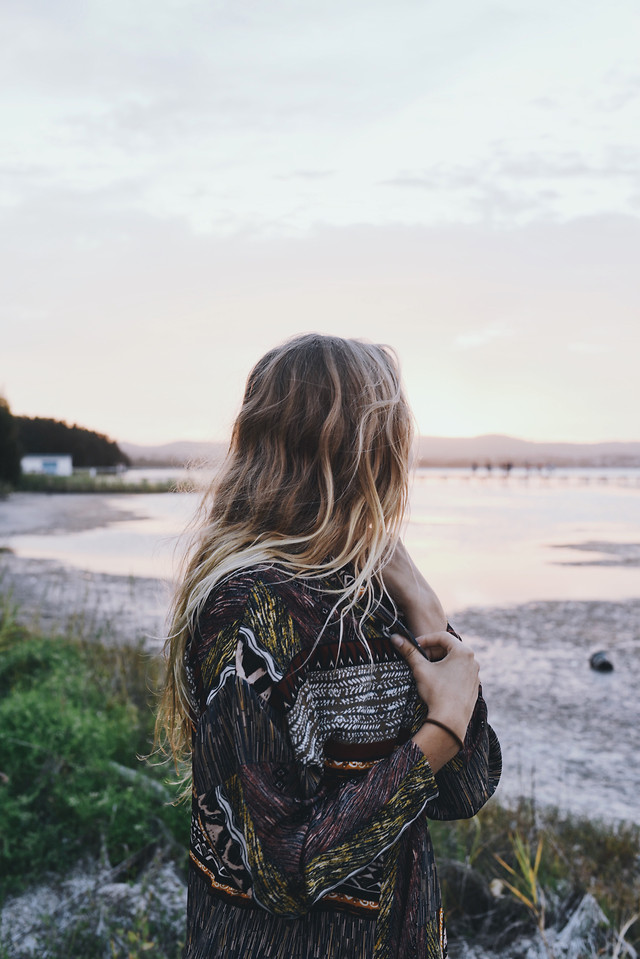 girl-nature-water-beach-summer picture material