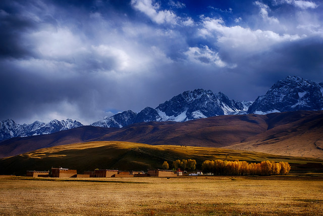 mountain-landscape-travel-nature-snow picture material