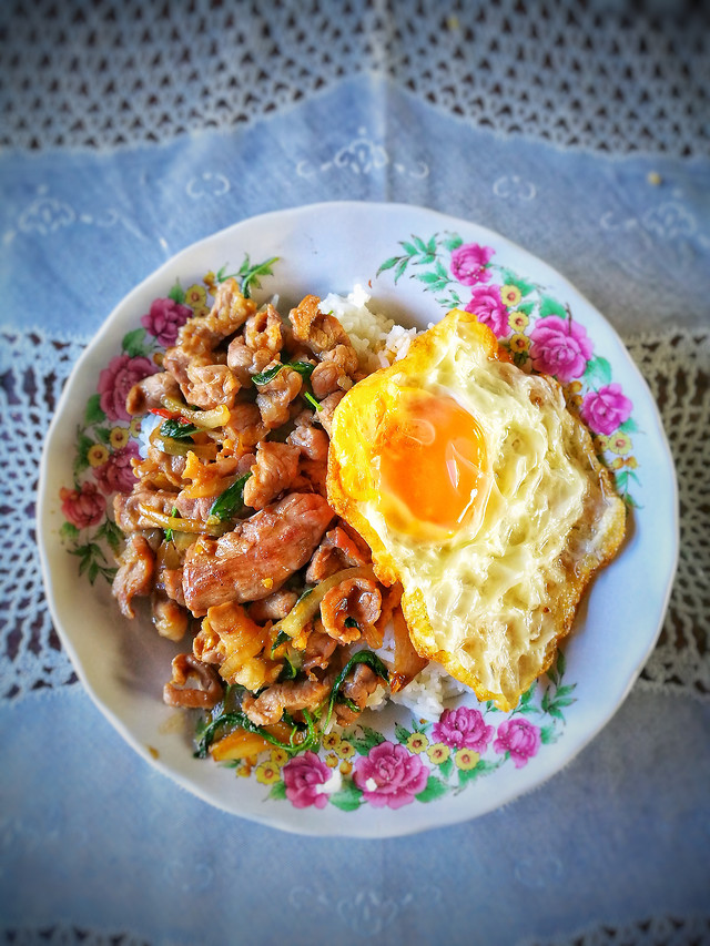 food-egg-meal-lunch-plate picture material