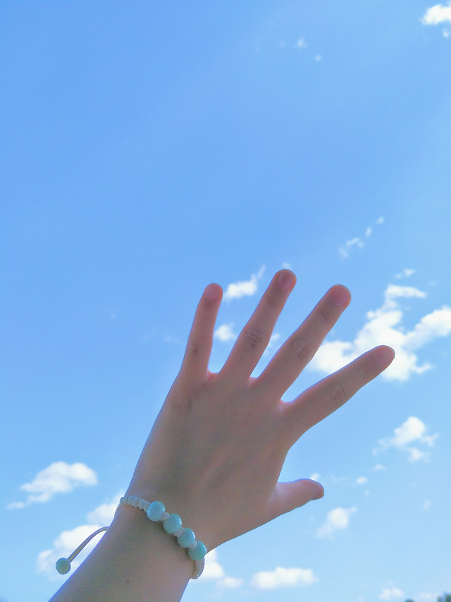 hand-sky-woman-people-outdoors picture material