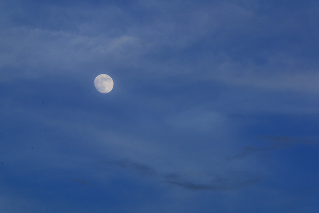 sky-moon-nature-daytime-desktop picture material