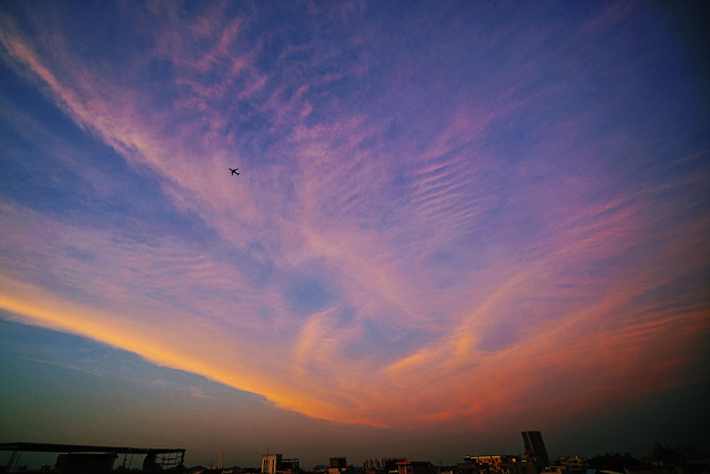 sunset-evening-sky-dawn-dusk picture material