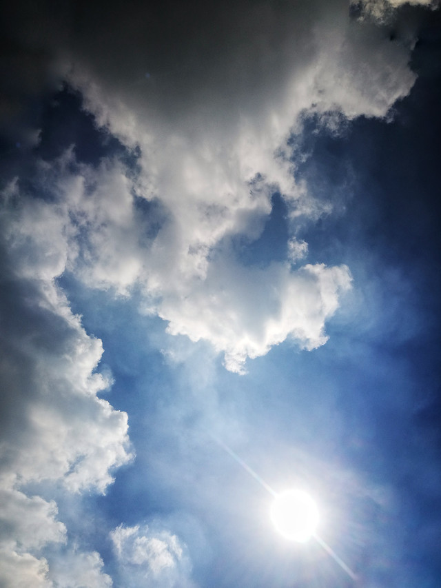 sun-fair-weather-heaven-sky-cloud picture material