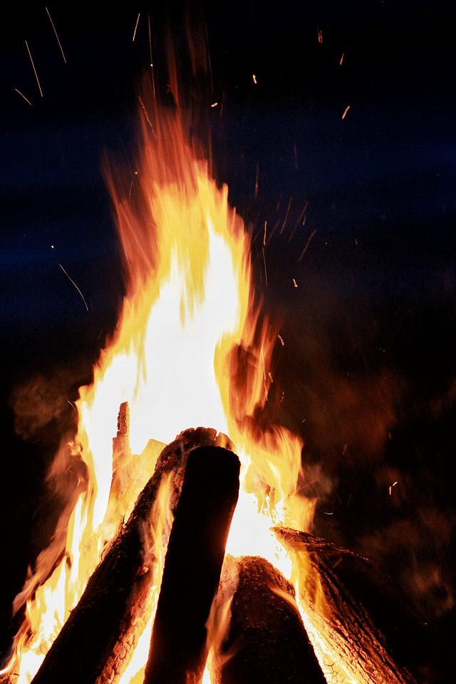 flame-hot-heat-bonfire-smoke 图片素材