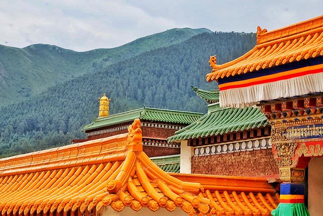 roof-chinese-architecture-temple-no-person-traditional picture material