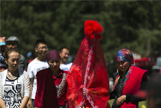 people-festival-red-adult-woman picture material