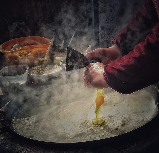 cooking-food-flame-chef-smoke picture material