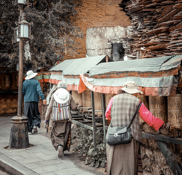 people-adult-traditional-man-street picture material