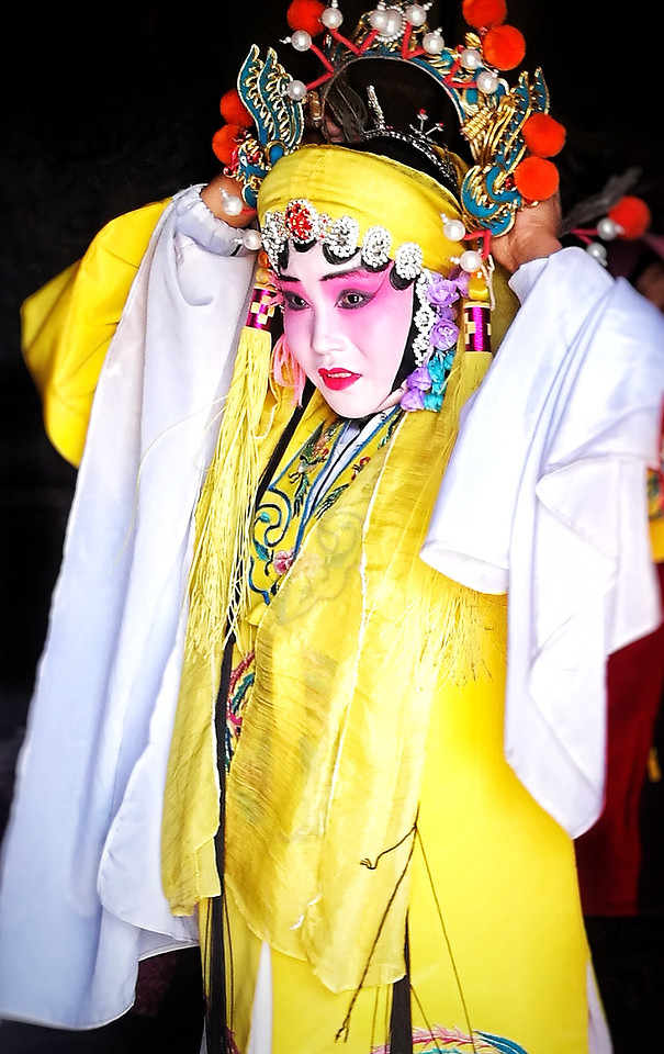 traditional-people-costume-festival-mask picture material