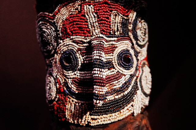 art-decoration-people-mask-pattern picture material