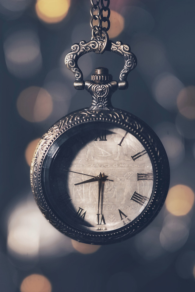 time-clock-watch-minute-midnight picture material