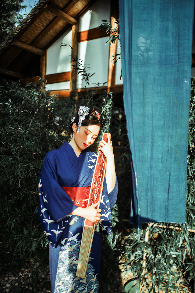 woman-kimono-girl-portraits-scenery 图片素材