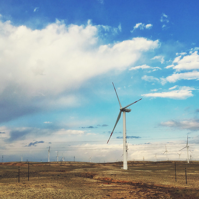 windmill-electricity-turbine-wind-grinder picture material