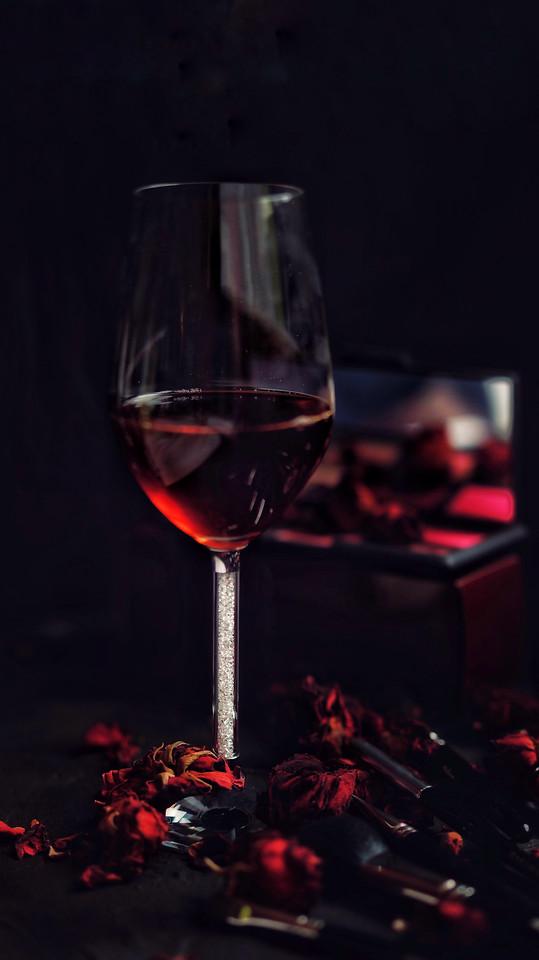wine-drink-glass-no-person-red-wine 图片素材