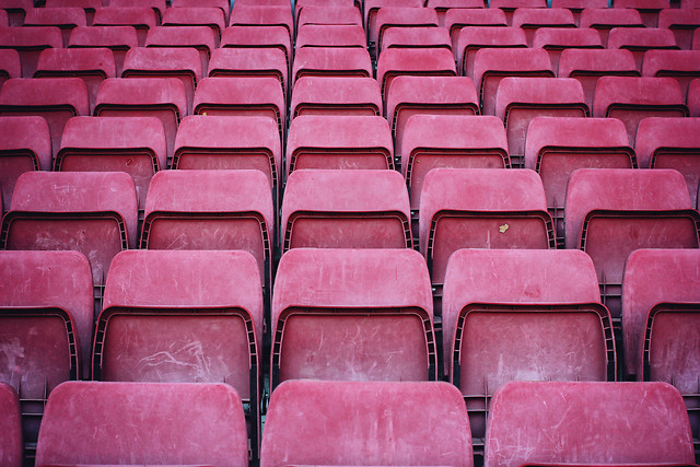 stadium-seat-bleachers-empty-audience picture material