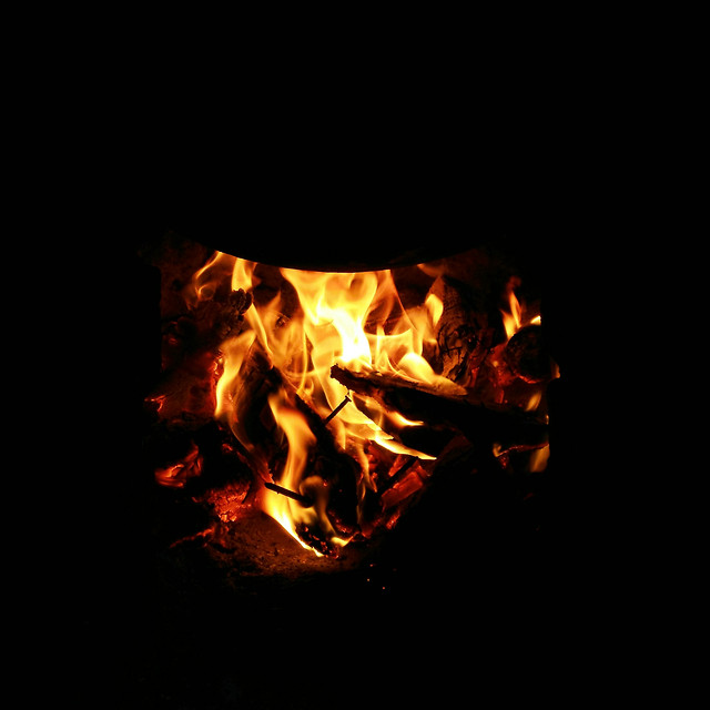 flame-hot-bonfire-heat-burn 图片素材