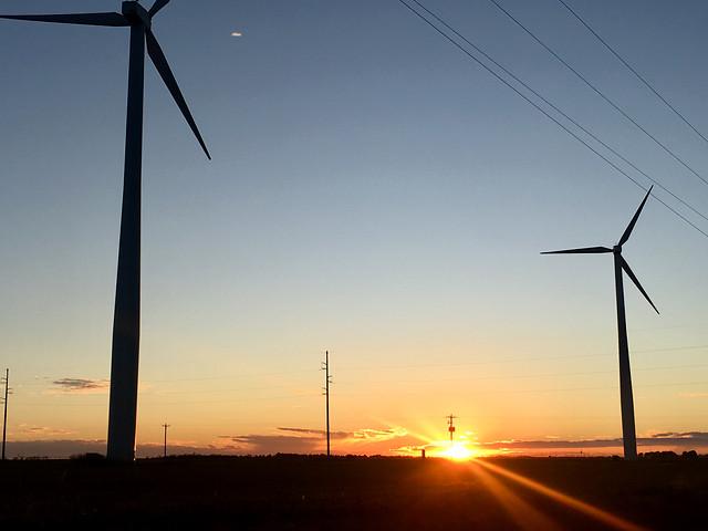electricity-windmill-wind-turbine-alternative picture material