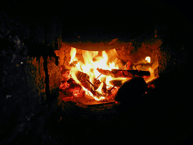 flame-bonfire-fireplace-campfire-hot picture material