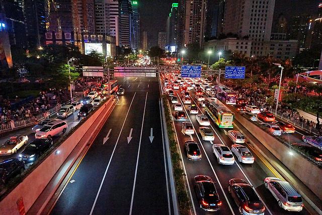 road-metropolitan-area-transportation-system-city-traffic 图片素材
