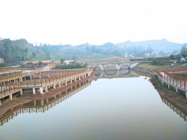 water-river-bridge-travel-lake picture material