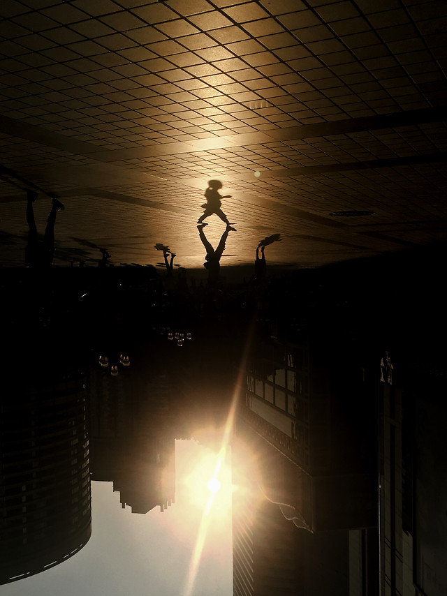 people-light-silhouette-music-backlit picture material