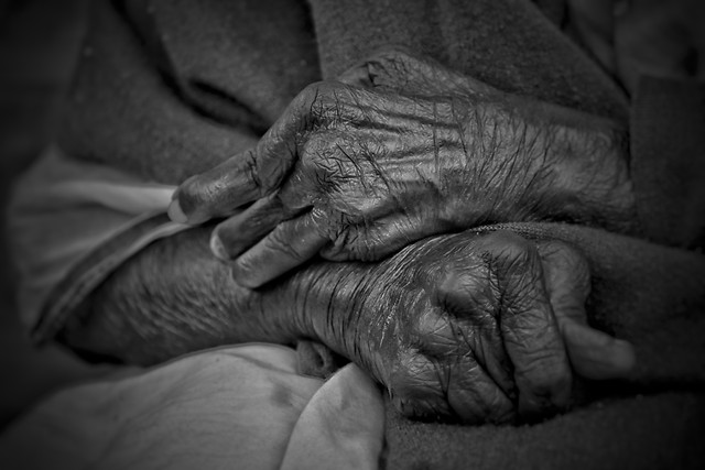 elderly-people-man-one-monochrome picture material