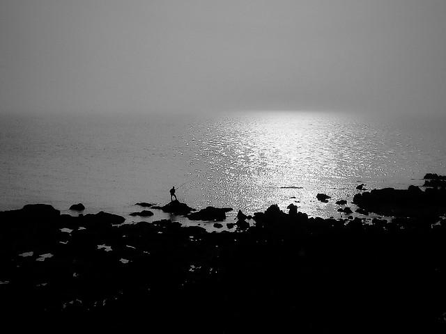 beach-monochrome-sea-water-ocean 图片素材