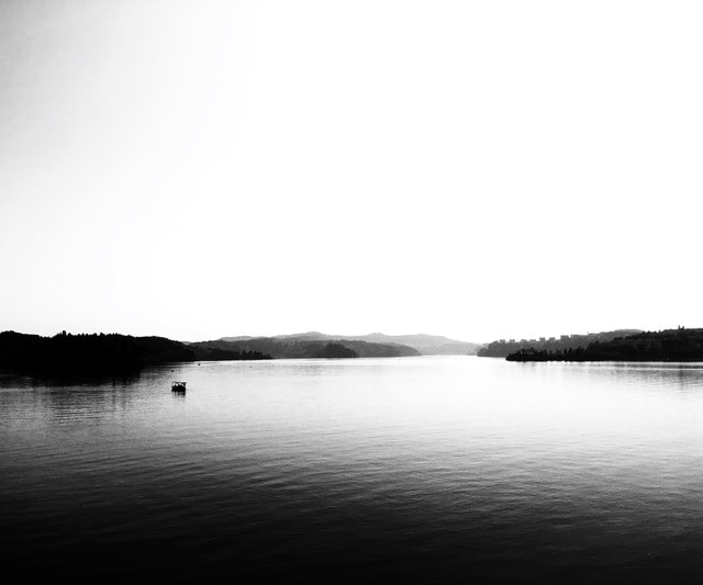 xianhai-white-body-of-water-sky-water 图片素材