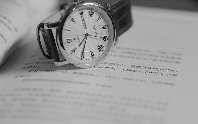 time-paper-business-watch-document picture material