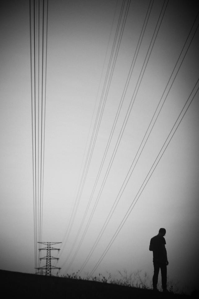 wire-no-person-black-black-and-white-steel 图片素材