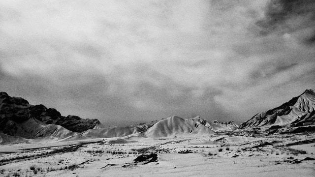 white-mountainous-landforms-mountain-sky-snow 图片素材