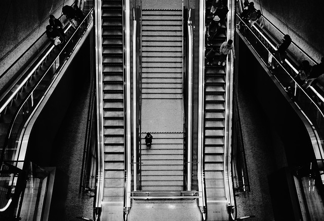 monochrome-step-no-person-black-transportation-system picture material