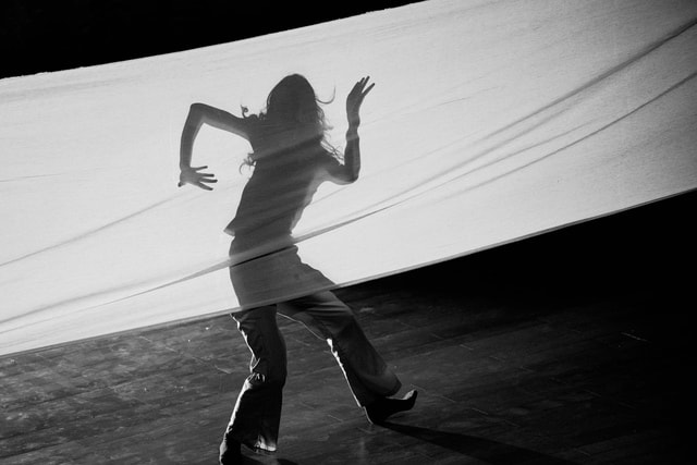 dance-black-and-white-black-white-black-and-white picture material