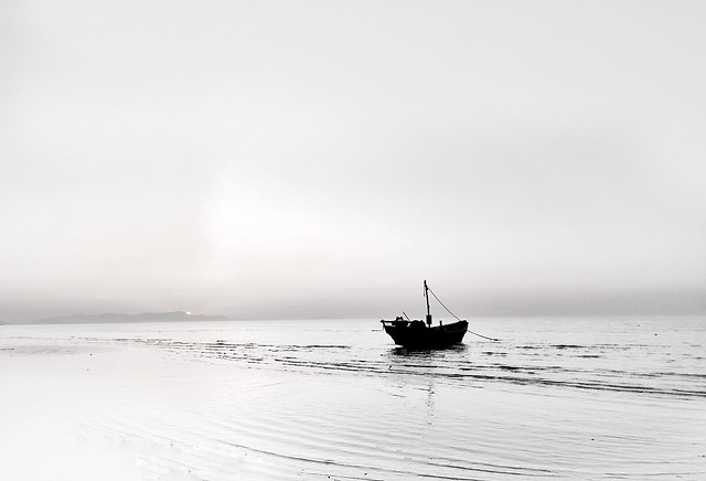 sea-water-ocean-beach-boat picture material