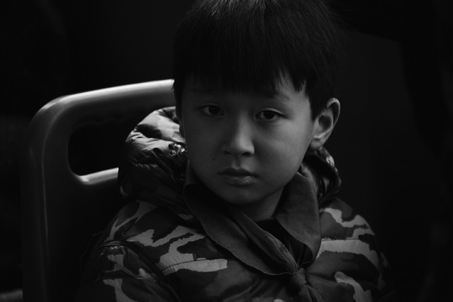people-child-portrait-one-boy 图片素材