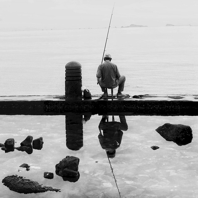 fisherman-water-fishing-rod-people-rod picture material