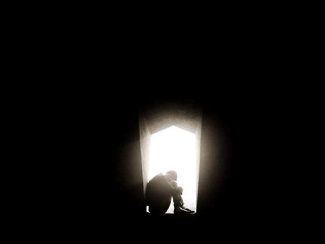 dark-black-moon-no-person-black-white picture material