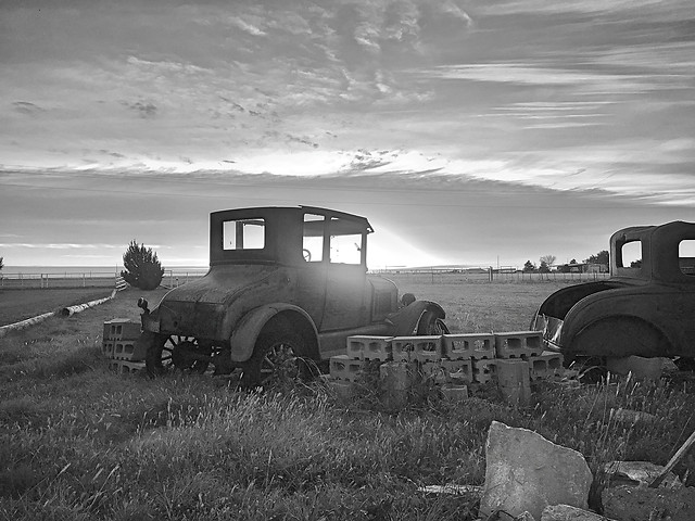 vehicle-tractor-abandoned-transportation-system-truck picture material