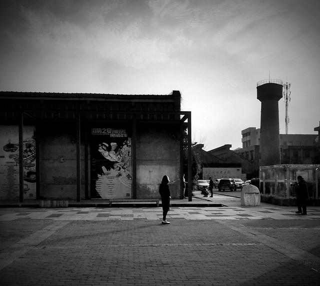 monochrome-people-street-no-person-adult picture material